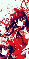 Touhou RED by Laxe-BloodyDays