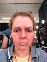 Old Age Stage Makeup by Coffeedrinkingsquirr