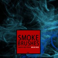 fa 0499 SMOKE BRUSHES by fanaticartsstock