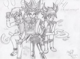 YGO 10th anniversary SKETCH by Swiftspill