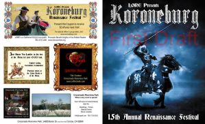 2012 Koroneburg Program Cover by tursiart