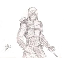 Altair - Very quick sketch by Spideyfan3714