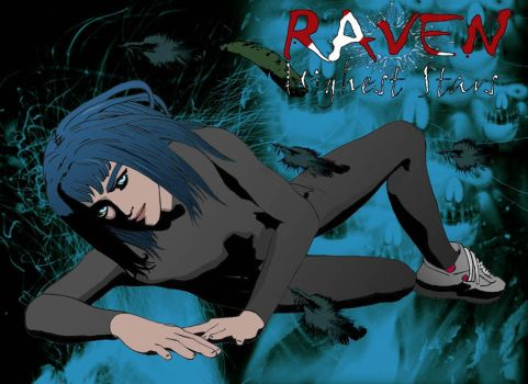 raven by DAMBPRODUCTIONS