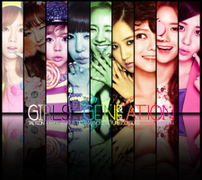 Girls' Generation (SNSD) ~ No Smile , No Rainbow ~ by ShimSungHyo