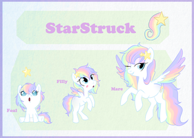 Reference sheet commission: StarStruck by StarDust-Adoptables