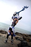 Aqua KHBBS Cosplay by Eyes-0n-Me