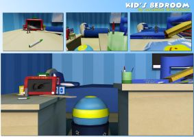 Bedroom Side-Scroller ingame by JonRichardson