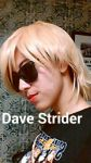 Dave Strider Cosplay by IcetalonWCW