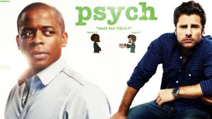 Psych Fan Art , Shawn and Gus ! by Vulkaa