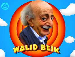 Caricature Walid Beik by asendos