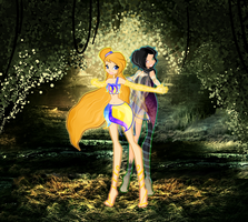 AT: Enchanted Forest by fiorei