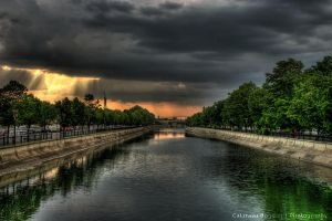 River Sky HDR by HDRenesys