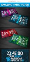 Amazing party Flyer Template by andre2886