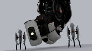 GLaDOS Test Render by toughraid3r37890