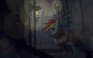 Wallpaper : Noir Dashie by LenToTo