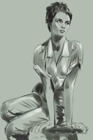 daily sketch  3022 by nosoart