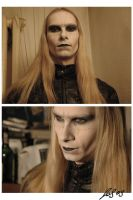 Prince Nuada - make-up by LeafOfSteel