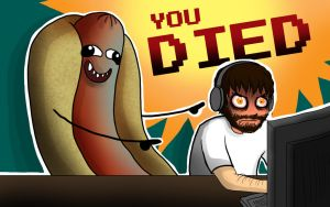 YOU DIED: CinnamonToastKen Fanart by garnetbarren