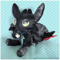 Patchwork Toothless by Patchwork-Shark