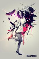 Splited Woman photomanipulation by choniq