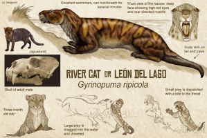River Cat, or Leon del Lago by Viergacht