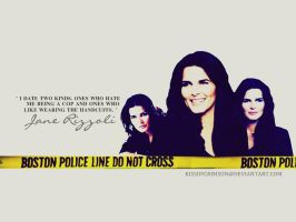 Jane Rizzoli. by KissofCrimson