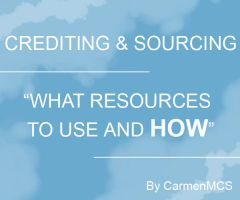 CREDITING-SOURCING: What Resources to use and HOW by CarmenMCS