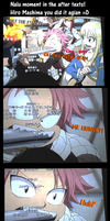 Nalu moments - The Maid of Phoenix After Texts! by felixne