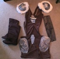 Aela Costume - Sneak Peek by LadySnip3r