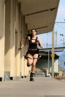 Max as Lara croft-Underworld 7 by MaxChi