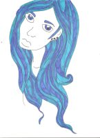I'm a blue-haired girl by jesskae