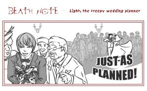 314 : DN : Wedding Planner by witegots