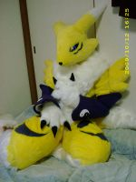 renamon fursuit Complete by ajisai-rebellion