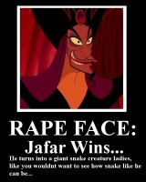 Jafar Rape Face by Miasmahex-Vicious