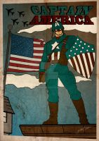 Captain America Vintage by GTR26