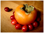 Cherry Persimmon by worthless-clodhopper