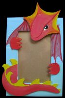 Dragon Photo Frame by Crooty