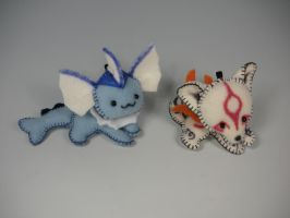 Keychain Cuties by WhittyKitty