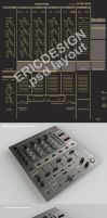 Pionner djm 600 project by 3DEricDesign