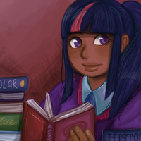bookworm by superlucky13