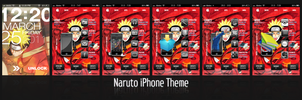 Naruto iPhone skin by hagane-girl