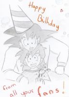 Happy Birthday Gohan by Pan-Trunks
