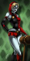 Miss Harley and Her Mallet by Anamated