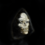 Hooded Skull by RedSwitch
