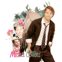 Misha  Collins by xGiveYourHeartABreak