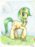 Apple Fritter by Evomanaphy
