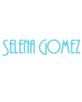 SELENA GOMEZ - PNG TEXT by emmalinepotter