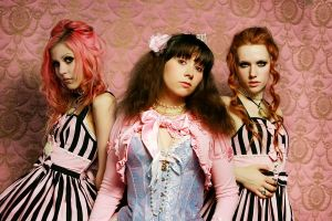 Candy floss girls II by blackheartarew