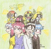 Sgt. Frog by Mister-Saturn