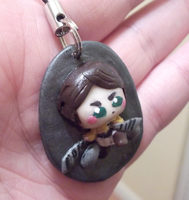 Eren Clay Charm -2- by CutiePoppers